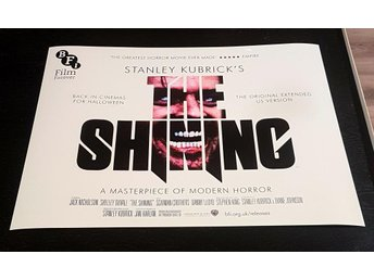 STANLEY KUBRIK´S THE SHINING PHOTO POSTER