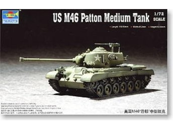 Trumpeter US M46 PATTON MEDIUM TANK  1/72