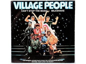 Village People - Can't Stop The Music ADS 642 Singel 1980