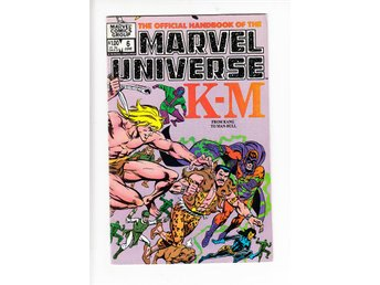 The Official Handbook of the Marvel Universe nr 6 (1983) / FN / snygg