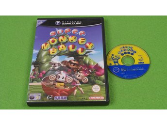 Super Monkey Ball GameCube Game Cube