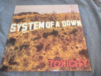 System of a down - Toxicity - LP - Rosa vinyl