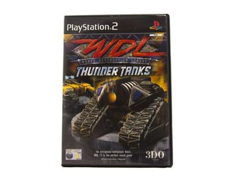 World Destruction League: Thunder Tanks - Playstation 2 - Varberg - World Destruction League: Thunder Tanks - Playstation 2 - Varberg