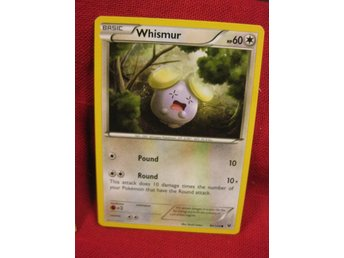 WHISMUR - POKEMON - NYTT KORT - FATES COLLIDE 80/124