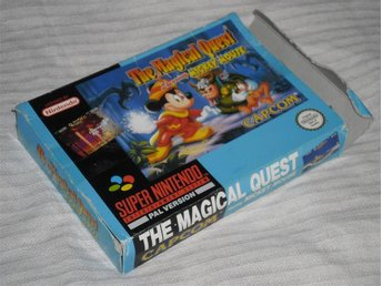 Super Nintendo/SNES: Magical Quest Mickey Mouse (TOMBOX, SCN)