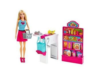 Barbie Malibu Ave Grocery Store with Barbie Doll Playset - Ginsheim - Barbie Malibu Ave Grocery Store with Barbie Doll Playset - Ginsheim