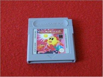 MS PAC-MAN till Nintendo Gameboy - Blomstermåla - MS PAC-MAN till Nintendo Gameboy - Blomstermåla