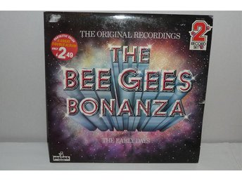 BEE GEES -THE BEE GEES BONANZA- THE EARLY DAYS - Dubbel-LP