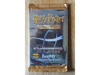 Harry Potter - Quiditch Cup Boosterpaket - 11 kort - Expert Level