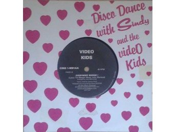 "Video Kids title* Everybody Boogie!* 7""France"