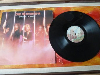 THE RUNAWAYS, QUEENS OF NOISE, 1977, LP, LP-SKIVA