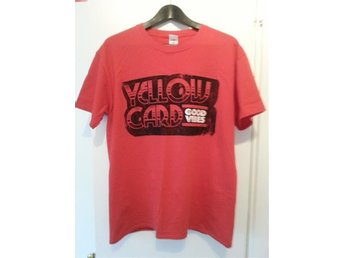 Yellowcard - T-Shirt - Röd - Large