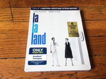 LA LA LAND Blu-Ray STEELBOOK Version 2017 USA Import BEST BUY EXCLUSIVE
