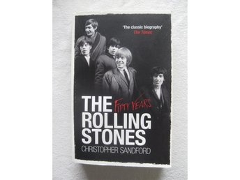 THE ROLLING STONES - FIFTY YEARS - CHRISTOPHER SANDFORD - ENGELSK TEXT - POCKET