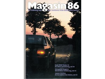 Saab Magasinet 1986