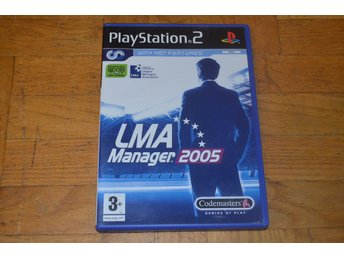 LMA Manager 2005 - Playstation 2 PS2