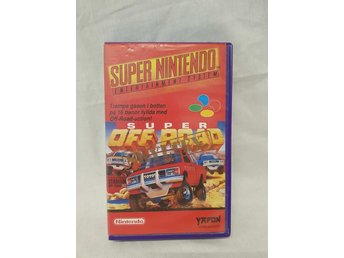 Super OFF ROAD / SNES / PAL / SCN / Yapon hyrkassett