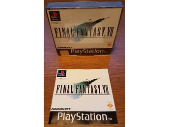 Final Fantasy 7 / VII [PAL - CIB] Komplett