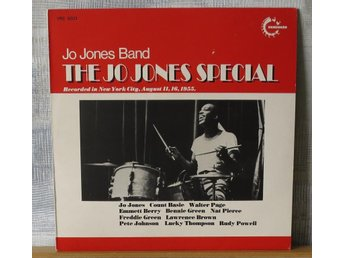 JO JONES BAND :: JO JONES SPECIAL : (LP) UK Press