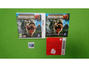 Combat of Giants Dinosaurs 3D KOMPLETT Nintendo 3DS
