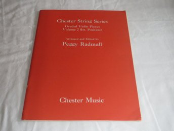 NOTER FÖR VIOLIN FIOL - CHESTER STRING SERIES / PEGGY RADMALL