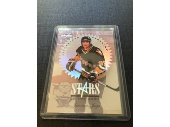 Jaromir Jagr 1996 Leaf Limited Stars of the game /5000 ex insert