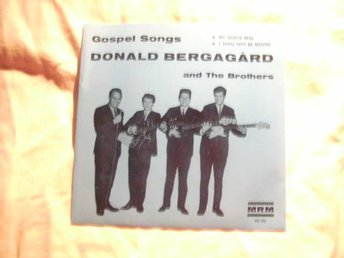 Donald Bergagård and The Brothers,Gospel songs,MRM HS 202