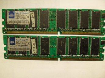 1GB DDR (2X512) DDR PC 3200.Testade ok 100%Lika.REAs Nu - Osby - 1GB DDR (2X512) DDR PC 3200.Testade ok 100%Lika.REAs Nu - Osby