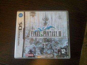 Final Fantasy III Nintendo DS - Norrköping - Final Fantasy III Nintendo DS - Norrköping