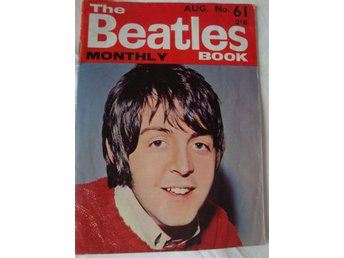 The Beatlesmonthly book Aug nr 61