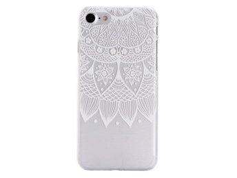iPhone 7 - Mandala/Drömfångare - Spets Henna - Vit - Mjölby - iPhone 7 - Mandala/Drömfångare - Spets Henna - Vit - Mjölby