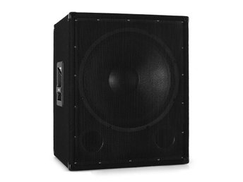Omnitronic professionell BX-1850 PA-subwoofer bas 12