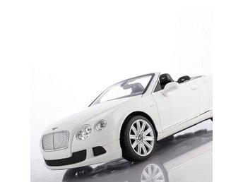 Bentley Continental GT cabriolet bil fjärrkontroll - Vit - Ingarö - Bentley Continental GT cabriolet bil fjärrkontroll - Vit - Ingarö