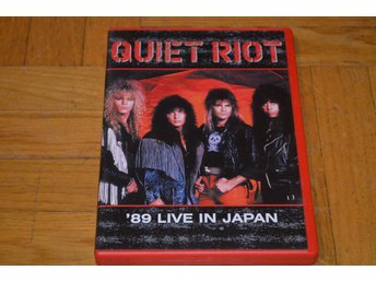 Quiet Riot - 89 Live In Japan - DVD