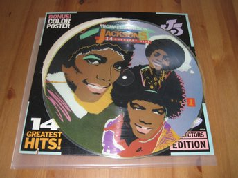 "Michael Jackson Jackson 5 ""14 Greatest Hits""1984 6099 ML Picture Disc"