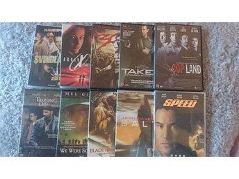 10st Action film Dvd - Mölndal - 10st Action film Dvd - Mölndal
