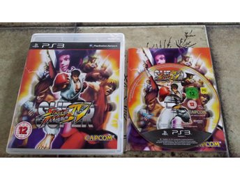 Super Street Fighter 4 Sony PS3 Playstation 3