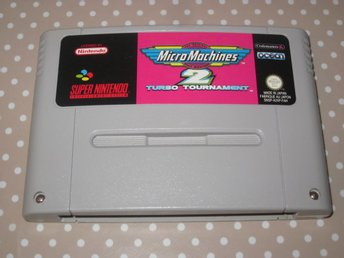 Micro Machines 2 Turbo Tournament till Super Nintendo SNES