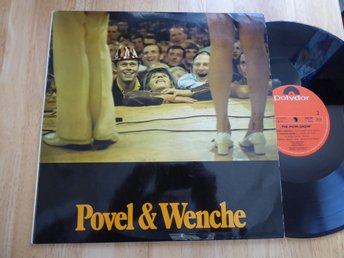 POVEL & WENCHE - The PoW show  Polydor Dubbel LP -70