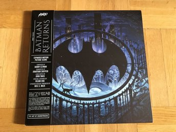 Batman Returns - Expanded Motion Picture Score 3XLP (Limited 2000 copies)