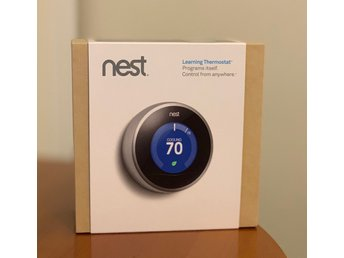 Nest Learning Thermostat - självlärande termostat - smart hem