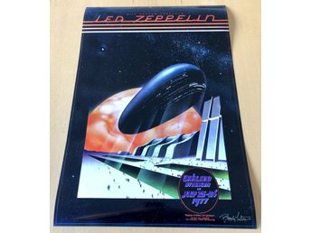 LED ZEPPELIN OAKLAND STADIUM 1977 PHOTO POSTER