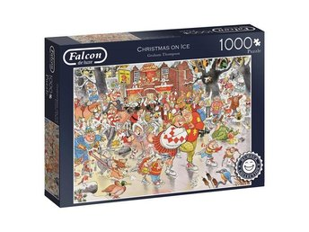 GT Comic Christmas on ice Pussel 1000 bitar 11223