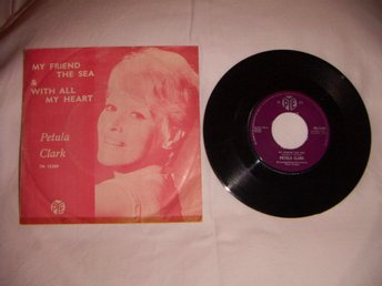 vinyl 45 rpm Petula Clark - my friend the sea + 1