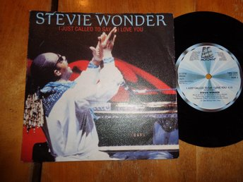 "Stevie Wonder ""I Just Called To Say I Love You"""