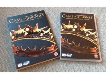 """ Game of Thrones"" DVD-box, säsong 2"