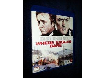 ÖRNNÄSTET (Svensk Blu-ray) Clint Eastwood (Eagles Dare)