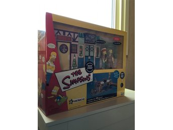 "STORT Simpsons playset  ""World of Springfield"" Main Street"