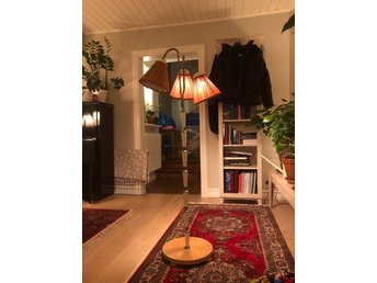 Trearmad retro lampa