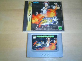 THE KING OF FIGHTERS 95 SEGA SATURN JAPANSKT